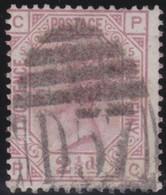 Great  Britain    .   Yvert  56   Pl  5    1875        .    O      .   Gebruikt    .     /    .     Cancelled - 1840-1901 (Victoria)