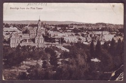 1920s Victoria Australia Unused Postcard Showing Bendigo From The Fire Tower - Bendigo
