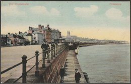 The Promenade, Penzance, Cornwall, 1908 - Milton Glazette Postcard - England