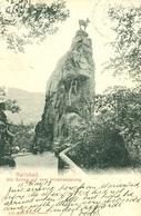 003799  Karlsbad - Die Gemse Auf Dem Hirschensprung 1904 - Böhmen Und Mähren