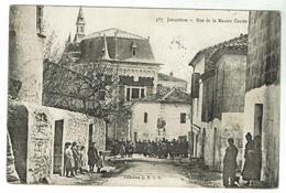 JONQUIERES  Rue De La Maison Carrée Voyagée 1906 - France