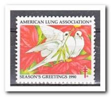 Amerika 1990, Postfris MNH, American Lung Association - Machine Stamps (ATM)