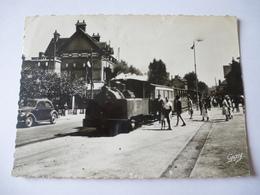 RIVA-BELLA Gare Du Chemin De Fer à Voie étroite - Ligne CAEN à La Mer - Vers La Fin De L'exploitation En Juin 1944 - Riva Bella