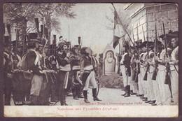 1920s Napoleon Bonaparte Unused Postcard Showing Napoleon Aux Pyramides 1798-99 Historical - History
