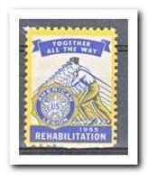 Amerika 1955, Postfris MNH, Rehabilitation - Machine Stamps (ATM)