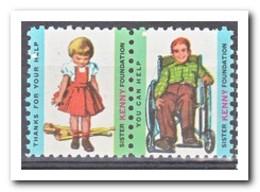 Amerika, Postfris MNH, Sister Kenny Foundation - Machine Stamps (ATM)