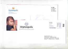 Pap Reponse Ciappa Orpheopolis + Destineo - Ganzsachen