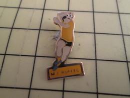 Pin816b : Pin's Pins / RARE & BELLE QUALITE / THEME : SPORTS / HANDBALL CLUB RUFFEC - Handball