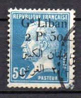 Col9  Grand Liban  Variete  :  N° 43a Sans Virgule Oblitéré  , Cote :    2,50 Euro - Great Lebanon (1924-1945)