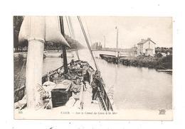 Caen-Sur Le Canal-(C.5144) - Caen