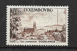 LUXEMBOURG 1955 TELE-LUXEMBOURG  YVERT N°495 NEUF MNH** - Luxemburg