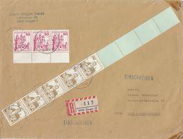 DEUTSCHLAND - GERMANIA - ALLEMAGNE - Busta Viaggiata Con Affrancatura Particolare: Yvert 763(5) E 764A(3). - Cartas