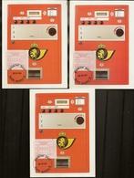 BELG.1984 Maximumkaarten OCB ATM 10 12 & 22 F NAMUR - Franking Machines