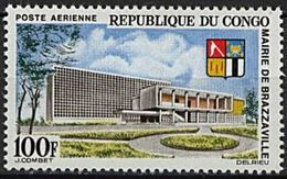 "Congo Aerien YT 26 (PA) "" Mairie De Brazzaville "" 1965 Neuf** - Congo - Brazzaville"