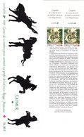 FRANCE - 1995 - YT N° 2946a X 2 - ** - + 2 Vignettes + Bande Carnet Non Pliée - Rode Kruis