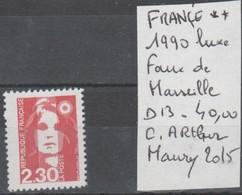TIMBRE DE FRANBCE NEUF ** LUXE Nt 2630 FAUX DE MARSEILLE  D 13 COTE 40 € - Variétés Et Curiosités