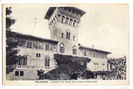 Millesimo (Savona) - Castello Marchese On.le Carlo Centurione. - Savona