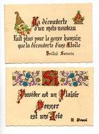 CALENDRIER . LIBRAIRIE DES PYRÉNÉES . BAYONNE . 2 CALENDRIERS DE 1984 &1985 . CITATIONS - Réf. N°9797 - - Calendars