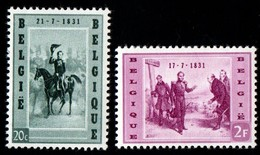 Belgium. 1957 King Leopold I.  SG 1612-1613. MNH - Nuovi