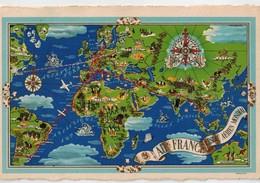 AIR FRANCE Cp Buenos-Aires Pour Paris 1937 - Autres
