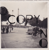 PHOTO ORIGINALE 39 / 45 WW2 WEHRMACHT FRANCE PARIS SCENE DE VIE SUR LES BOULEVARDS - War, Military