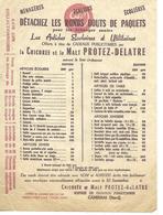 Liste De Cadeaux Offert Par La Chicorée PROTEZ-DELATRE Contre Les Ronds Bouts De Paquets / 59 CAMBRAI - France