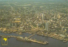 BRAZIL - Manaus 1987 - Vista Aerea - Manaus