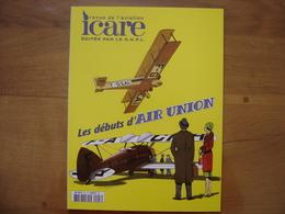 ICARE Aviation 203 Les Débuts D'Air Union SOMMAIRE EN PHOTO - Aviation