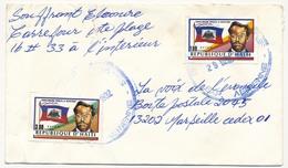 """HAITI - Enveloppe Affr.2 Ex """" Charlemagne Peralte, Le Résistant """" - 1992 - Haití"""