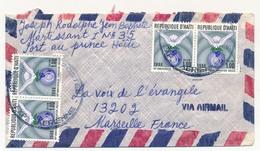 """HAITI - Enveloppe Affr. 4 Ex """" 40eme Anniversaire Fondation UNESCO"""" - 1986 - Haití"""