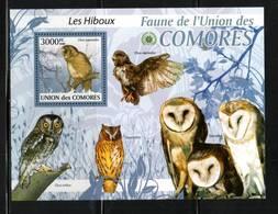 OISEAUX     UNION Des COMORES    NEUF Sans Charnière      N°  BF  200  N**  OISEAUX  -HIBOUX - Collections, Lots & Series
