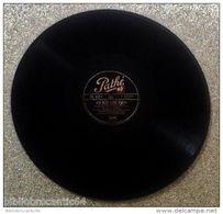 """78Trs"""" FREDO GARDONI/  & MANUEL.PUIG """" < J'AI REVE D'UNE FLEUR - A PETITS PAS < PATHE PA 127 - 78 Rpm - Schellackplatten"""