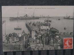 BZ - Algerie - ALGER - Lot De 2 Cartes - Arrivée Du Courrier Transatlantique Et Eugene Pereire - Algiers