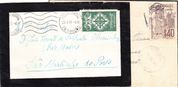 Portugal -marcofilia 4 Envelopes - Postmark Collection