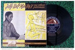 LP 25cm * JELLY-ROLL MORTON'S* NEW ORLEANS JAZZMENS < VOIX DE SON MAITRE FFLP1013 - Jazz