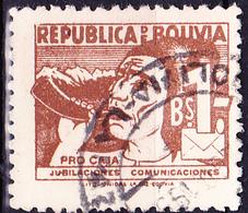 Bolivien - Verkehrsangestellte Hornbläser (MiNr: ZZM 16) 1954 - Gest Used Obl - Bolivia