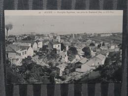 BZ - Algerie - ALGER - Lot De 4 Cartes - Theme Mustapha - Rue De Lyon - Boulevard Bru - Entrée Palais Vue Générale - Algiers