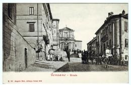 GENZANO STRADA DELLA CHIESA ANIMATISSIMA ROMA LAZIO - Italia