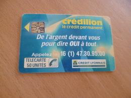 Varièté à Vérifier Erreur 50/120 Et Dos Cordon/ Crédilion En L'état - France