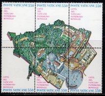 Vatican City 1986 City As UNESCO World Heritage Site Block Of 6, MNH, SG 851/6 (A) - Vatican