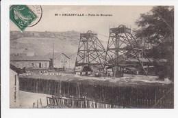 CPA 12 DECAZEVILLE Puits De Bourran - Decazeville