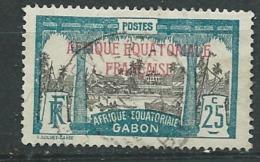 Gabon   -- Yvert N° 96 Oblitéré -  Ad38024 - Gabon (1886-1936)