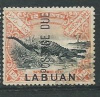 Borneo , Labuan  - Taxe -- Yvert N°  7  Oblitéré -  Ad38033 - North Borneo (...-1963)