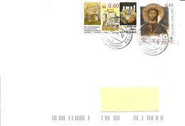VATICANO - 2018 Lettera Con Timbro Pasquale SURREXIT CHRISTUS ALLELUIA - Vatican