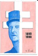 -illustrateur Robert Renard. CHARLES DE GAULLE .1890- 1970. Ex Unique. - Other Illustrators