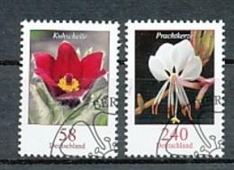 GERMANY Mi.Nr. 2968-2969 Freimarken: Blumen- ESST Berlin - Used - BRD
