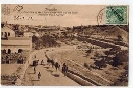 JERUSALEM  First View Of The City - Palestine
