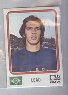 LEAO...BRASIL.....ALBUM PANINI MUNCHEN 1974...FOOTBALL..TRADING CARDS..FIGURINE...CALCIO - Panini