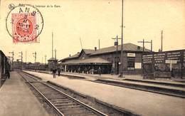 Ans - L'Intérieur De La Gare (animée, 1925, Edit Baus Frères) - Ans