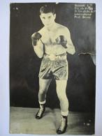 BOXE - Carte-Photo De L. BESSADI - Finaliste Championnat De France 1964 - En L'état ( Voir Annonce) - Boxing
